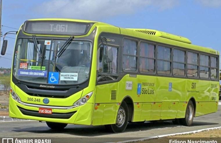 São Luís: Ônibus é assaltado na Ponte Bandeira Tribuzzi