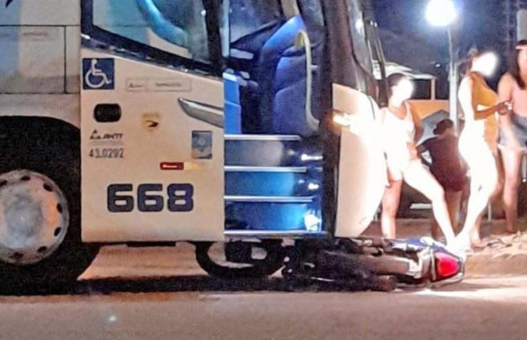 MT: Acidente entre ônibus da Ouro e Prata e moto deixa um ferido na BR-163 em Sinop - revistadoonibus