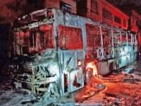 MG: Bandido incendeia ônibus da linha 432 em Juiz de Fora - revistadoonibus