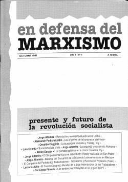 Revista En Defensa del Marxismo 01
