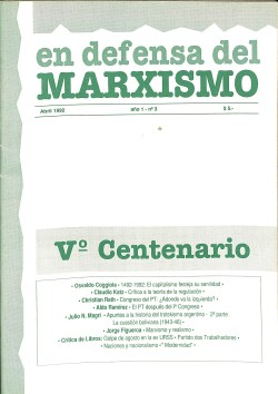 Revista En Defensa del Marxismo 03