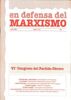 Revista En Defensa del Marxismo 06