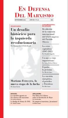 Revista En Defensa del Marxismo 40