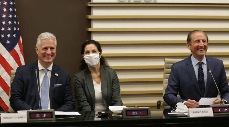 Em visita à Fiesp, Conselheiro de Segurança Nacional dos EUA anuncia intenção do governo americano de fazer investimentos milionários no Brasil