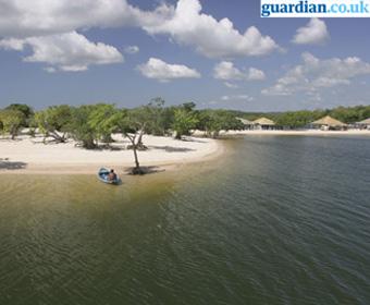Alter do Chão é escolhida como a melhor praia do Brasil, segundo o Jornal Inglês The Guardian (1/4)