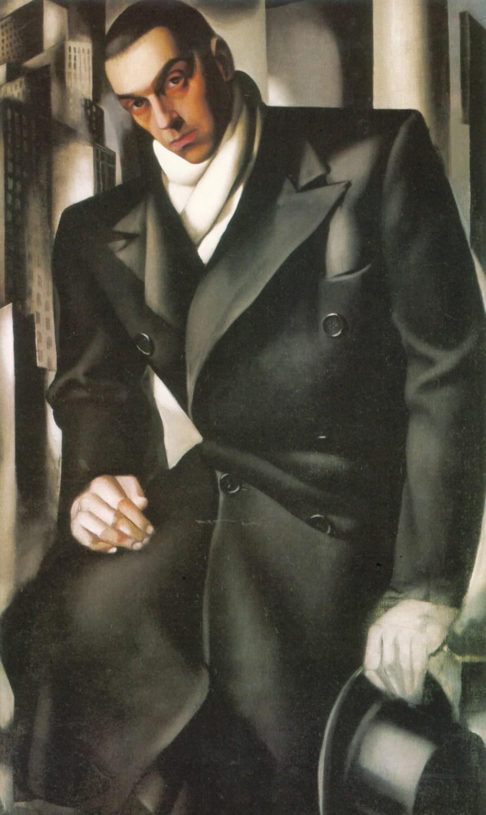 Tadeusz Lempitski (Portrait of a Man, Unfinished), 1928