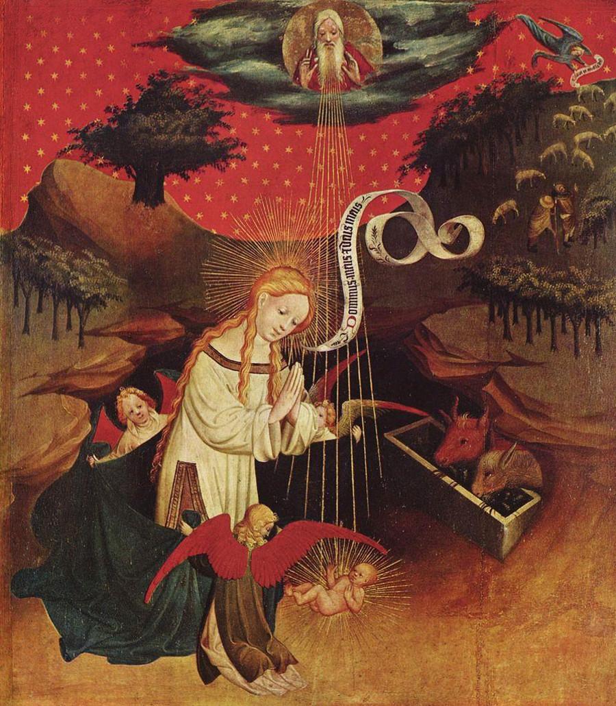Meister Francke, Natividad. Hamburgo