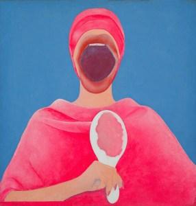 Sin título (Mujer Huevo con espejo), c. 1967