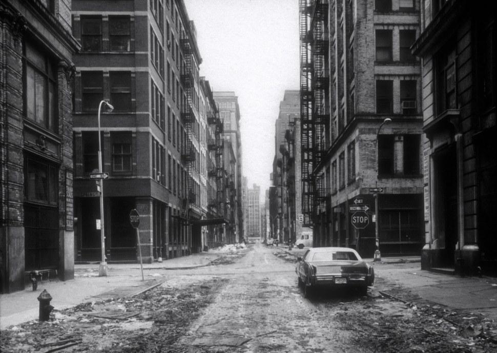 Thomas Strut. Calle Crosby, Soho, Nueva York  (1978)