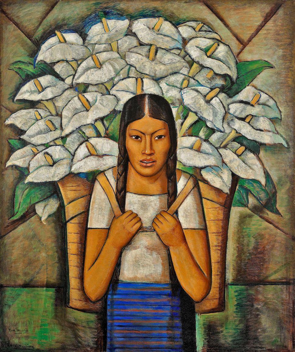 Alfredo Ramos Martínez, Calla Lily Vendor (Vendedora de Alcatraces), 1929