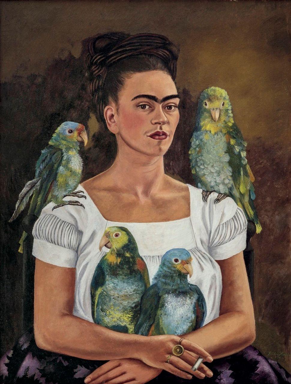 Frida Kahlo, Yo y mis loros, 1941