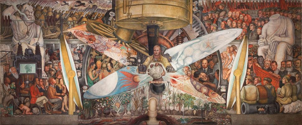 Diego Rivera, Man, Controller of the Universe, 1934