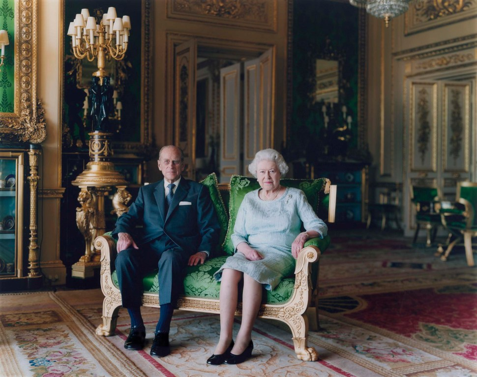 Thomas Struth. Queen Elizabeth II and The Duke of Edinburgh, Windsor Castle 2011
