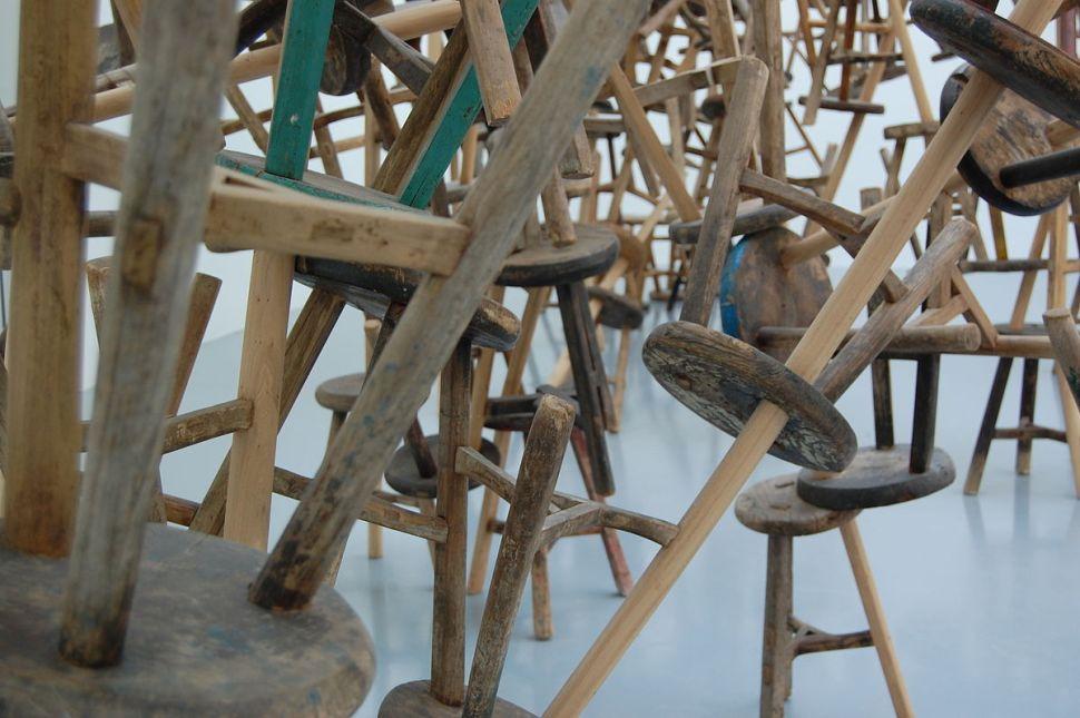 BANG, by Ai Weiwei, Venice Biennale, 2013. Foto: Elly Waterman