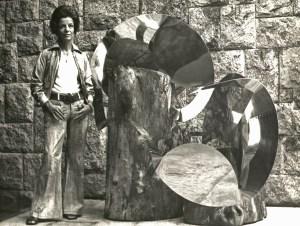Lygia Clark, 1972. Imagem do Fundo Correio da Manhã. Collection Brazilian National Archives