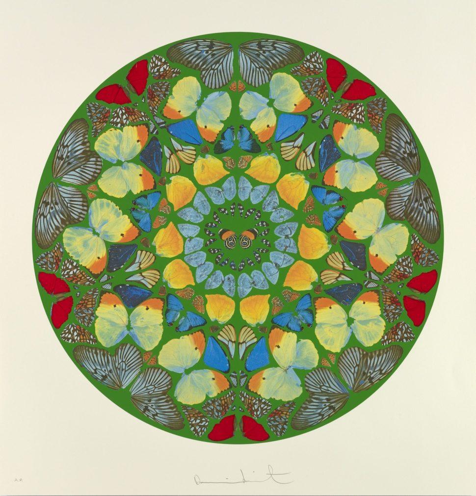 Damien Hirst. Psalm: Usque quo, Domine? 2010.