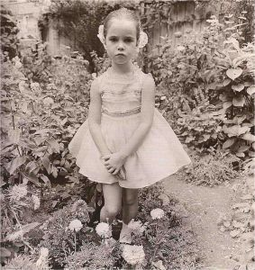 Diane Arbus. Petal pink for little parties. © The state of Diane Arbus