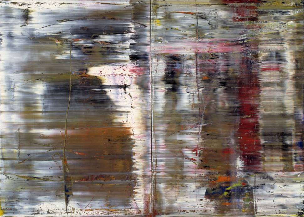 Abstract Painting (726) 1990 Gerhard Richter. Tate Gallery.