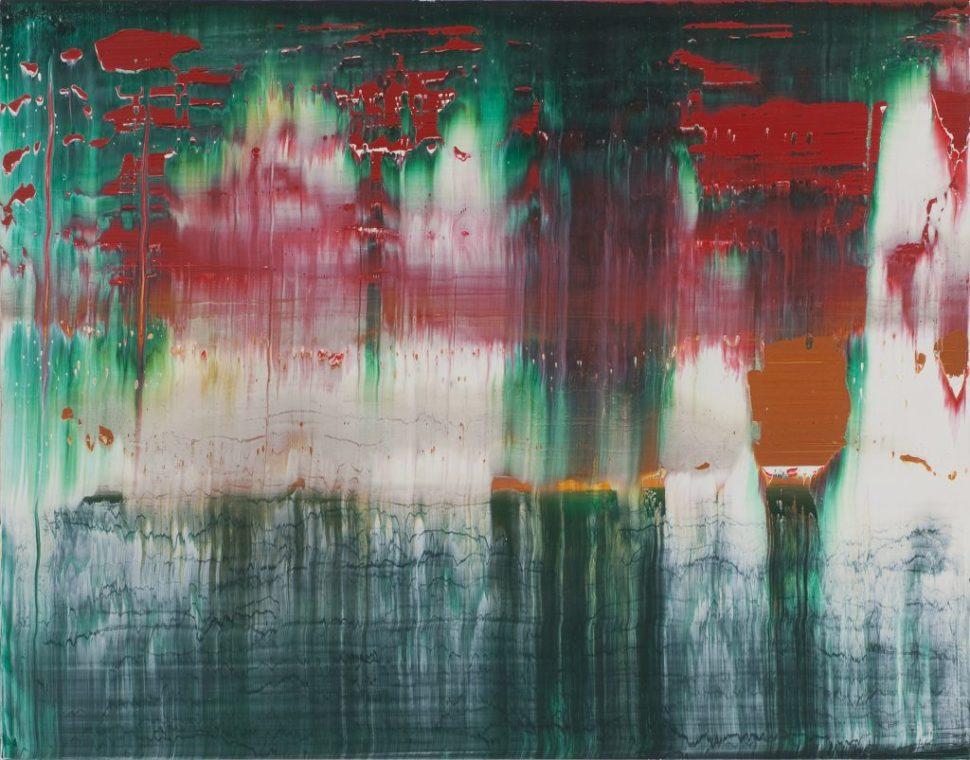 Gerhard Richter Fuji 1996 ©-Gerhard Richter 2011. Foto Olbricht Collection Jana Ebert