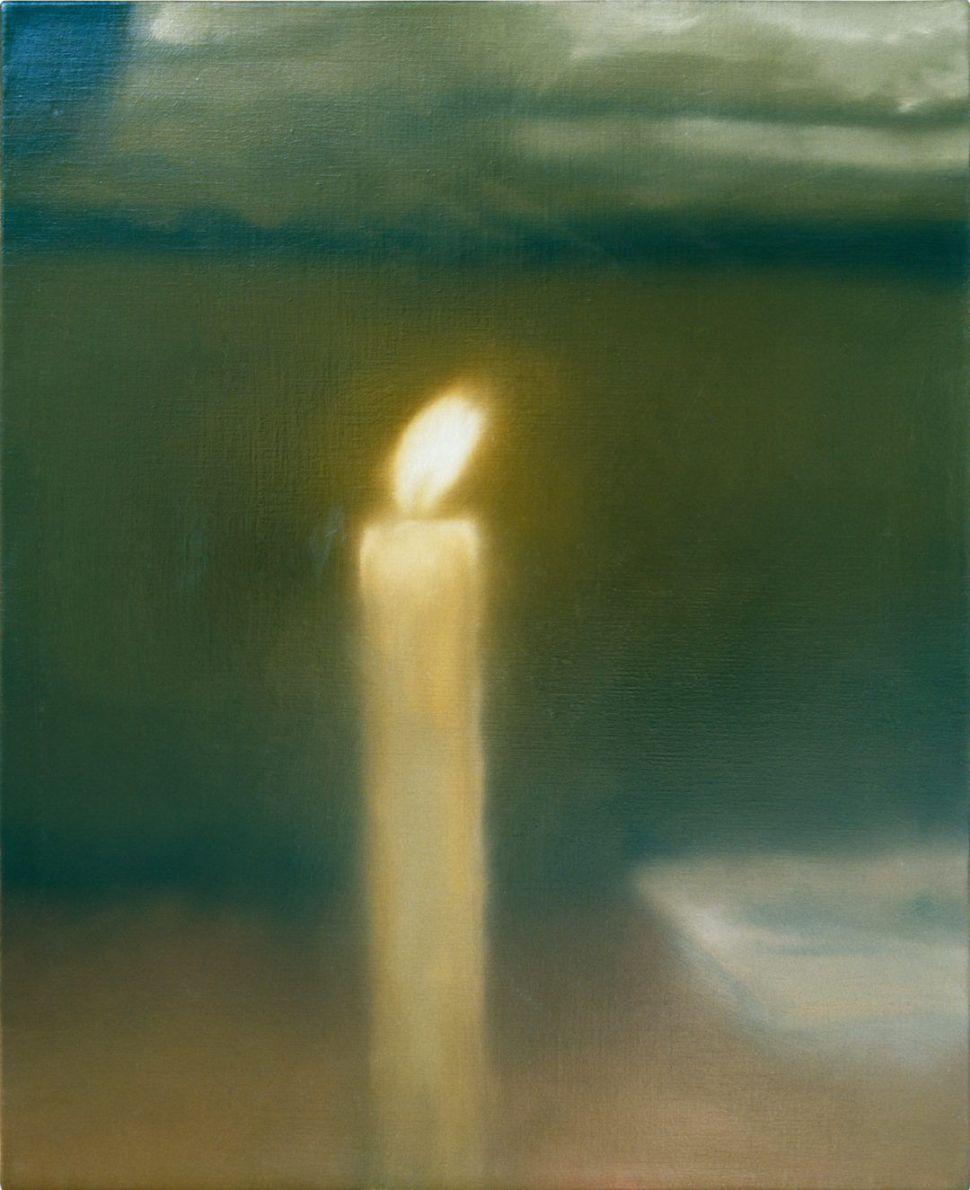 Gerhard Richter Kerze,1982. Photo Gerhard Richter 2019