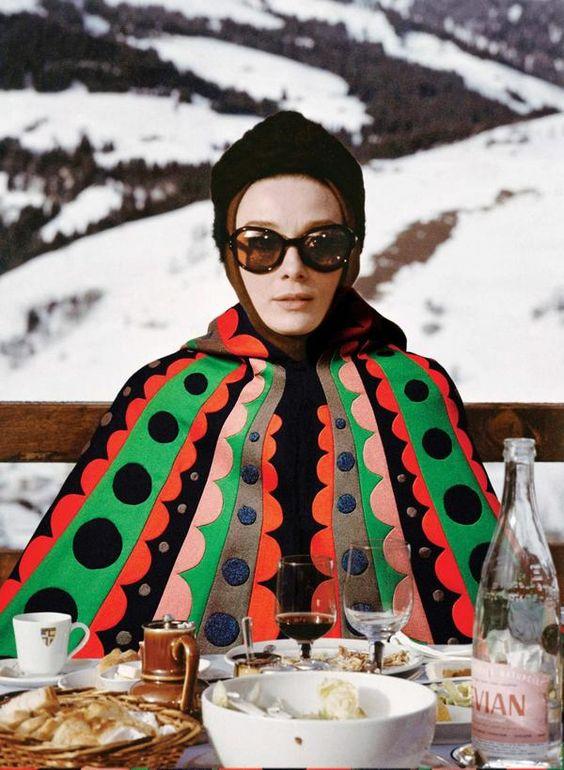 Audrey Hepburn de Valentino en Charade