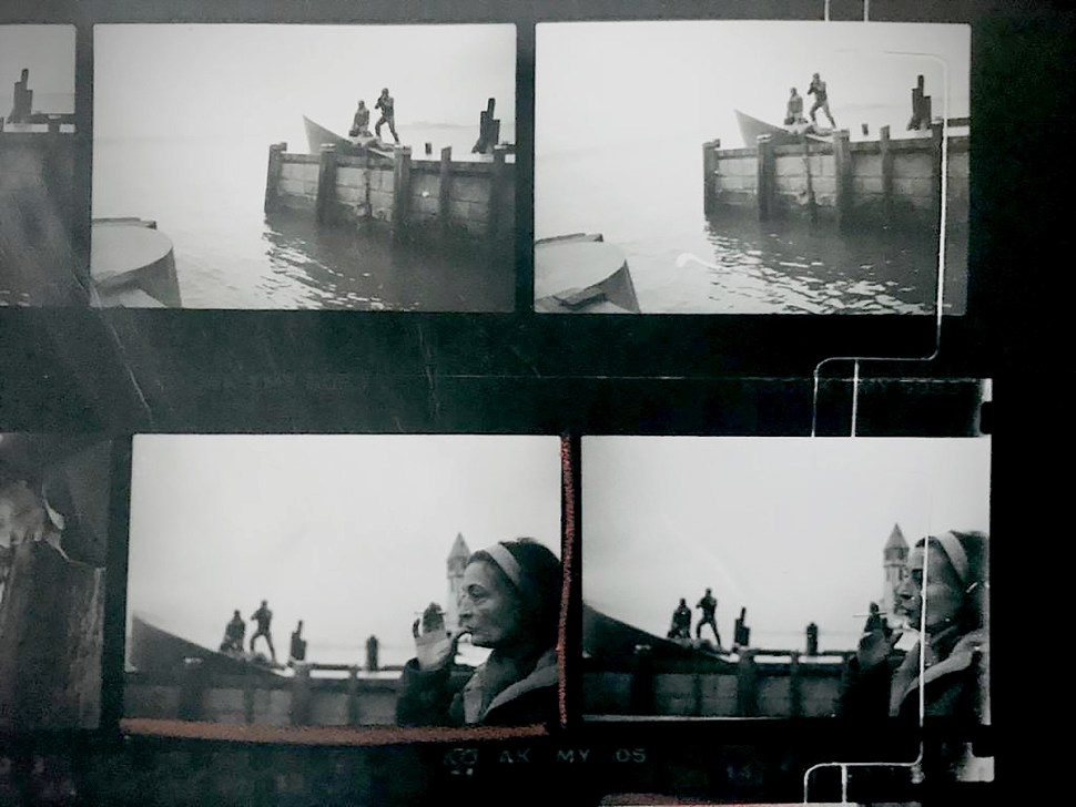 Marisol pruebas de contacto Memorial at Battery park 1991 Foto Fran Beaufrand