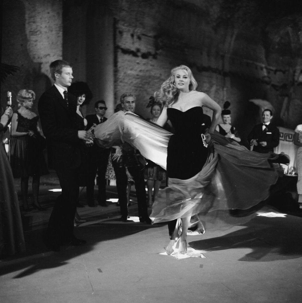 Escena del baile en La Dolce Vita