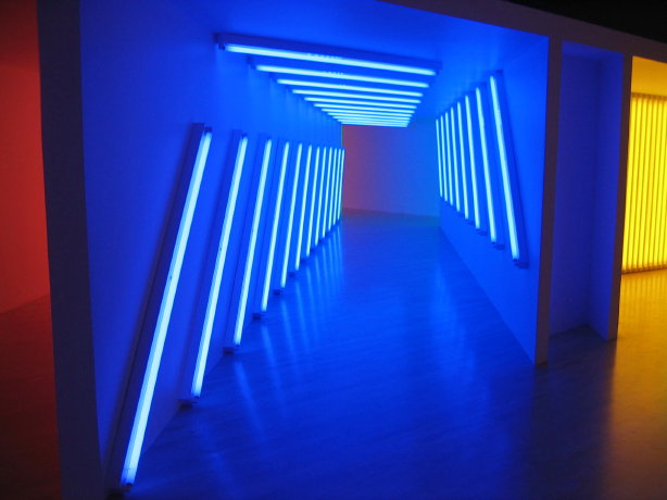 Dan Flavin (untitled to my dear bitch, Airily) 1981 Foto WikiArt