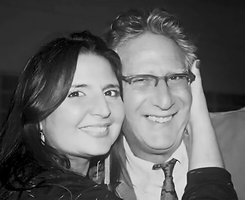 Gabriela y Ricardo Benaim