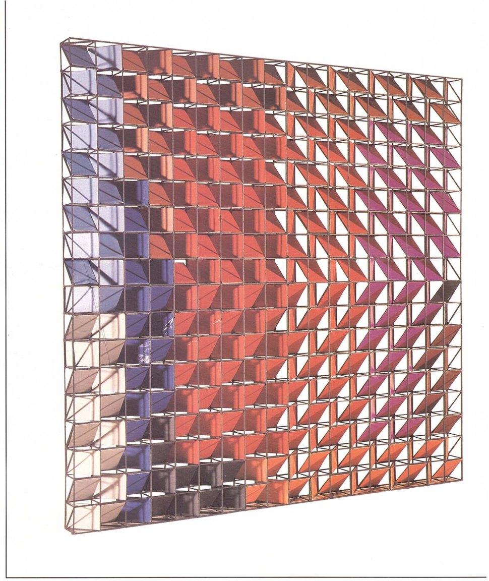Mercedes Pardo, Maqueta para el techo del centro comercial La viña 1977