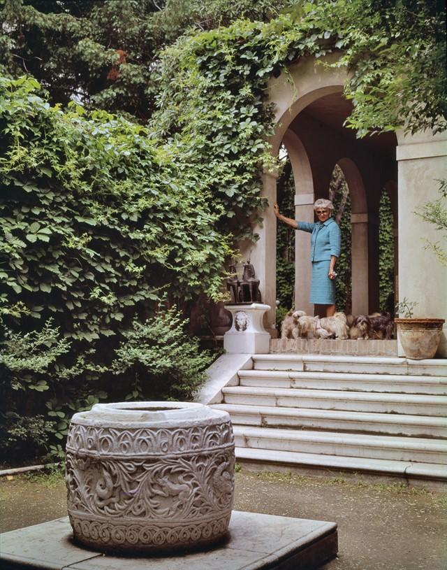 Vista del patio. Cortesía Solomon Guggenheim Foundation