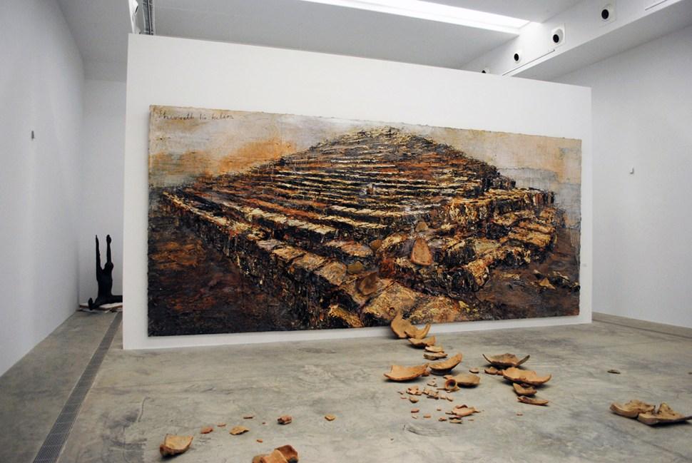 Anselm Kiefer Shevirath Ha Kelim 2009. Kiefer Pavilion PLANTA project Fundacio Sorigue, Lleida Spain. Foto P A Black 2018