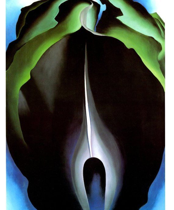 Georgia O'Keeffe. Serie Jack in the pulpit 1930