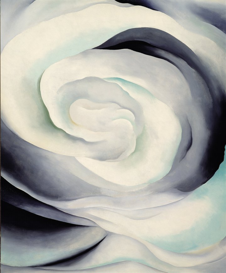 Georgia O'Keeffe Abstraction White Rose 1927