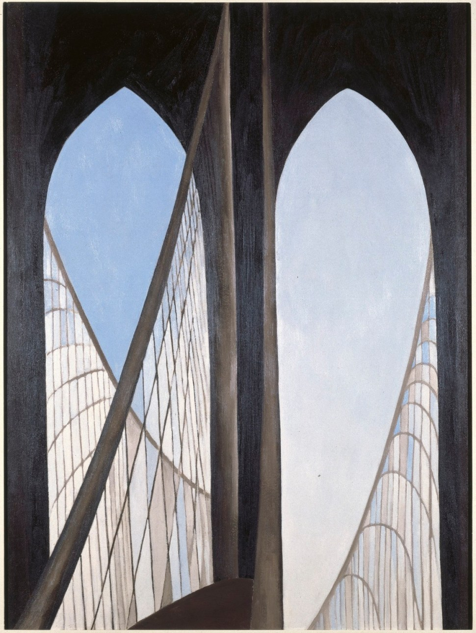 Georgia O'Keeffe Brooklyn bridge 1949