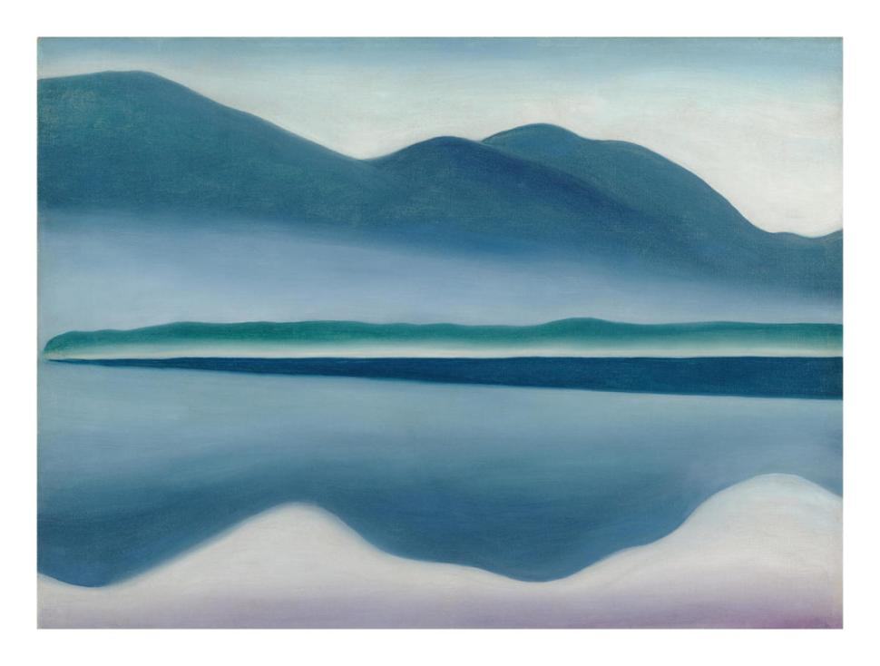 Georgia O'Keeffe Reflection Seascape 1922