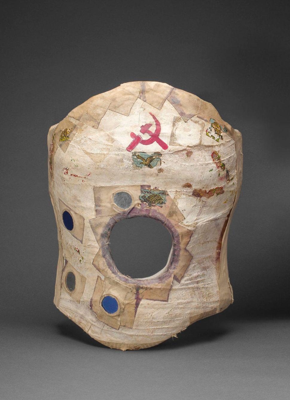 Corset de yeso usado por Frida Kahlo. Museo Frida Kahlo. Archivos de Diego Rivera y Frida Kahlo.