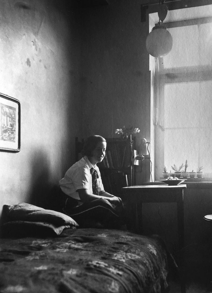 Gego en Hamburgo 1938 Foto Ewald Ritter Archivo FG