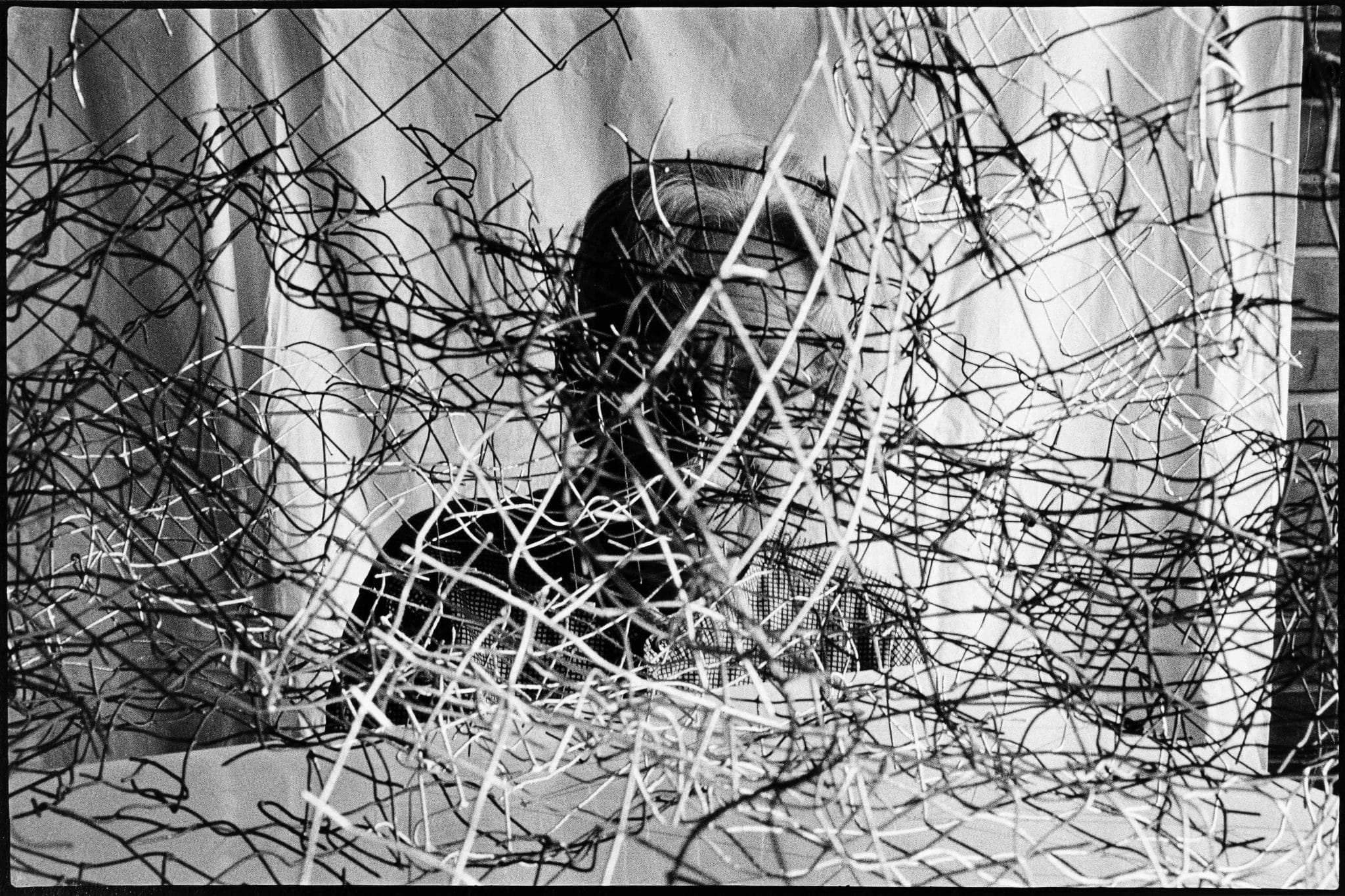 Gego por Gerd Leufert. Foto digitalizada por Abel Naim.