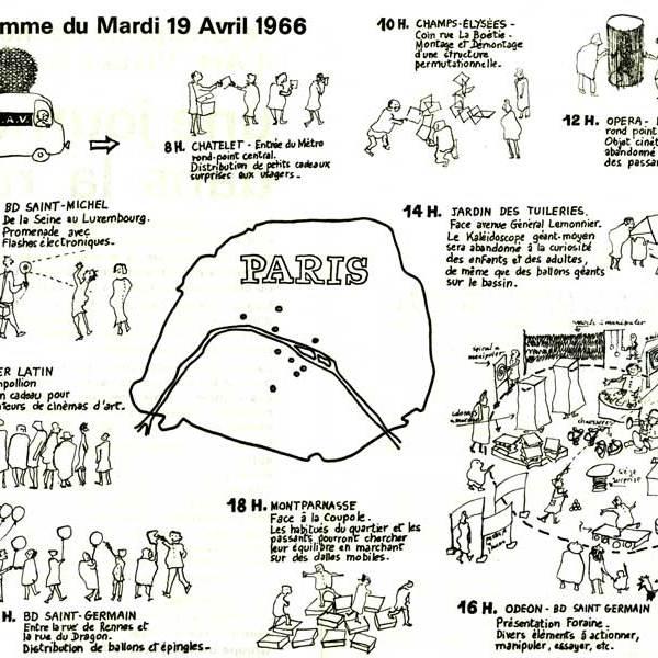 Une journée dans la rue 1966