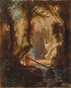 Ferdinand Bellerman. Cueva del Guácharo, 1843