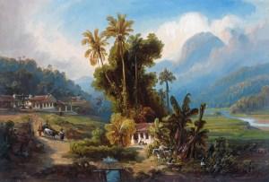 Ferdinand Bellermann. Hacienda de San Esteban de Puerto Cabello