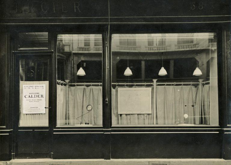 Alexander Calder, Volumes- Vecteurs '- Densites- Dessins-Portraits, 1931