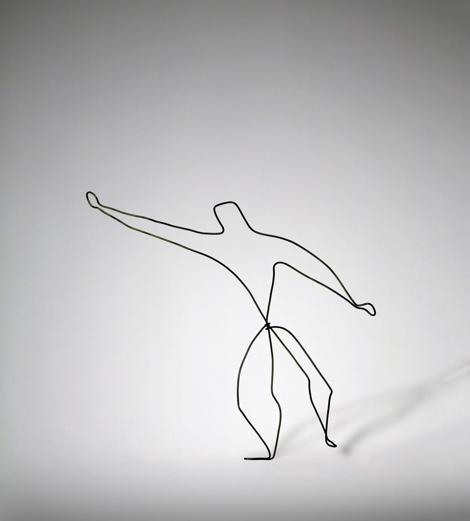 Calder, Le lanceur de poids 1929