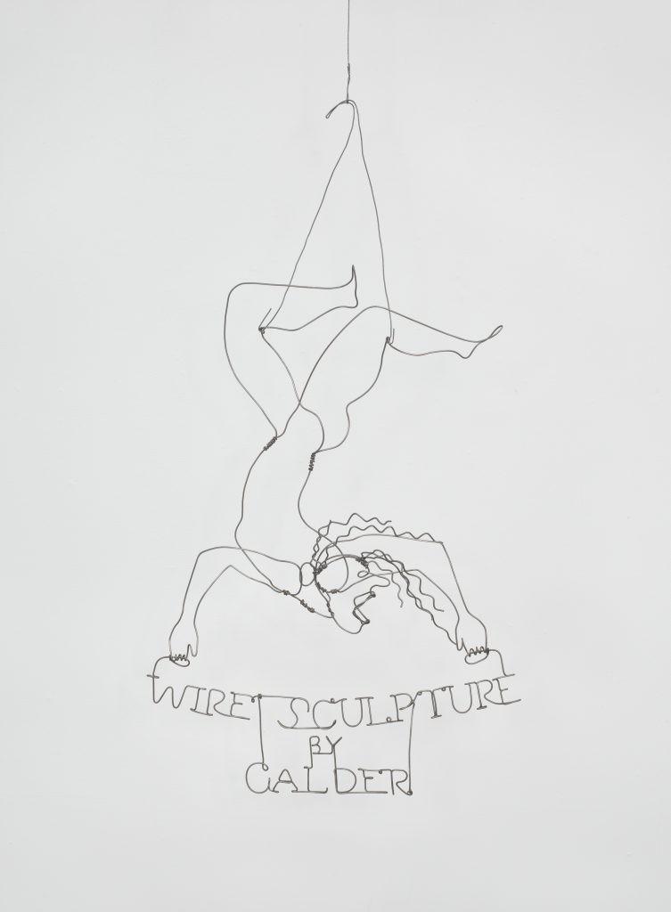 Wire Sculpture by Calder 1928