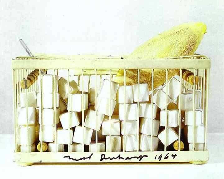 Marcel Duchamp, Why Not Sneeze Rose Selavy 1921-64