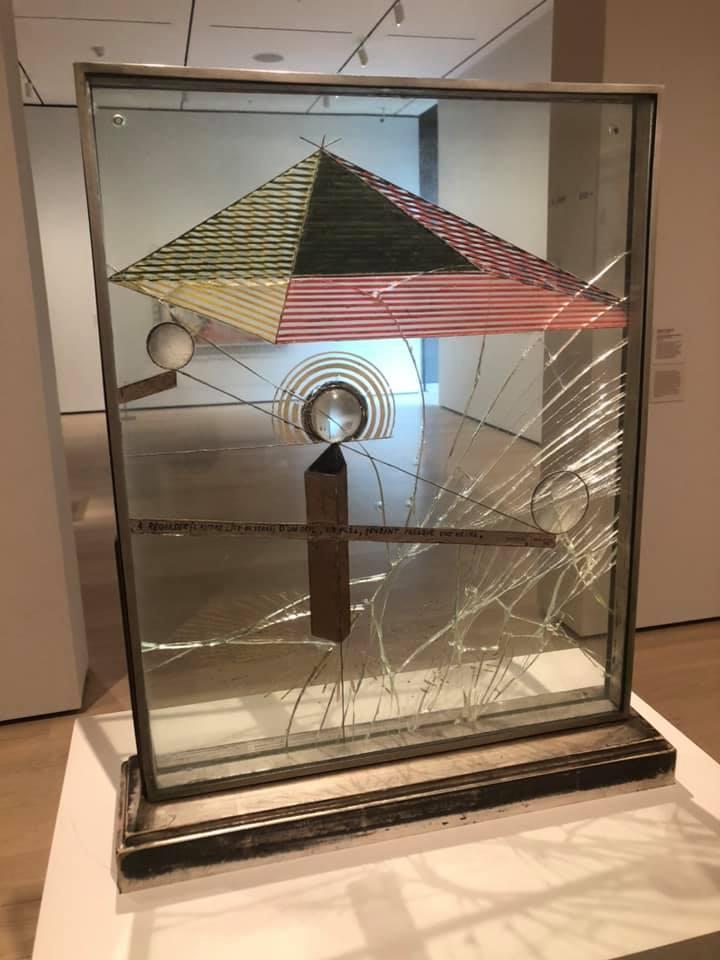 Marel Duchamp. Balance disturbed en MoMA.