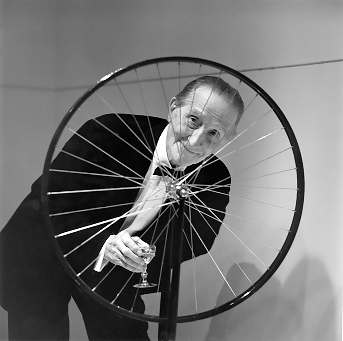 Marcel Duchamp y la rueda de bicicleta