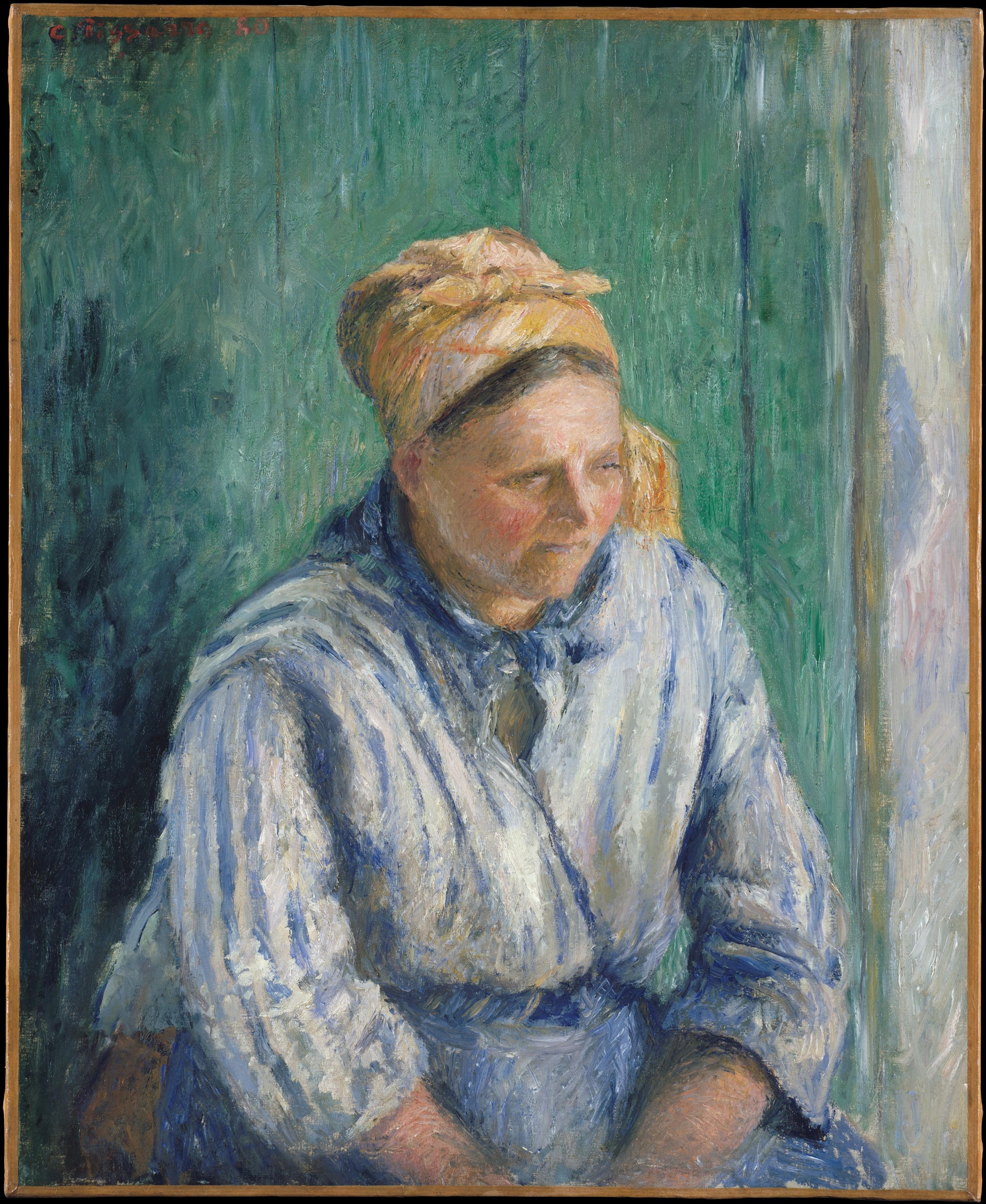 Camille Pissarro, La Lavandera 1880