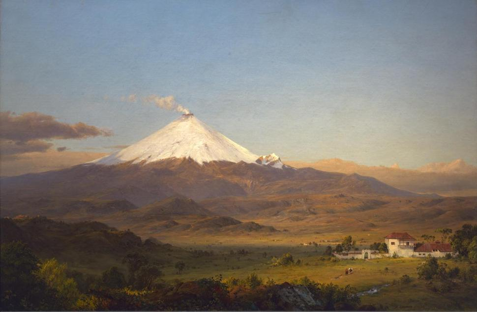 Frederic Edwin Church. Cotopaxi, 1855. Smithsonian American Art Museum Gift of Mrs. Frank R. McCoy 1965. Photo by Gene Young.